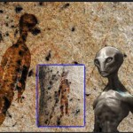 Hátborzongató: Ufók és ősi idegenek egy 10 ezer éves barlangrajzon