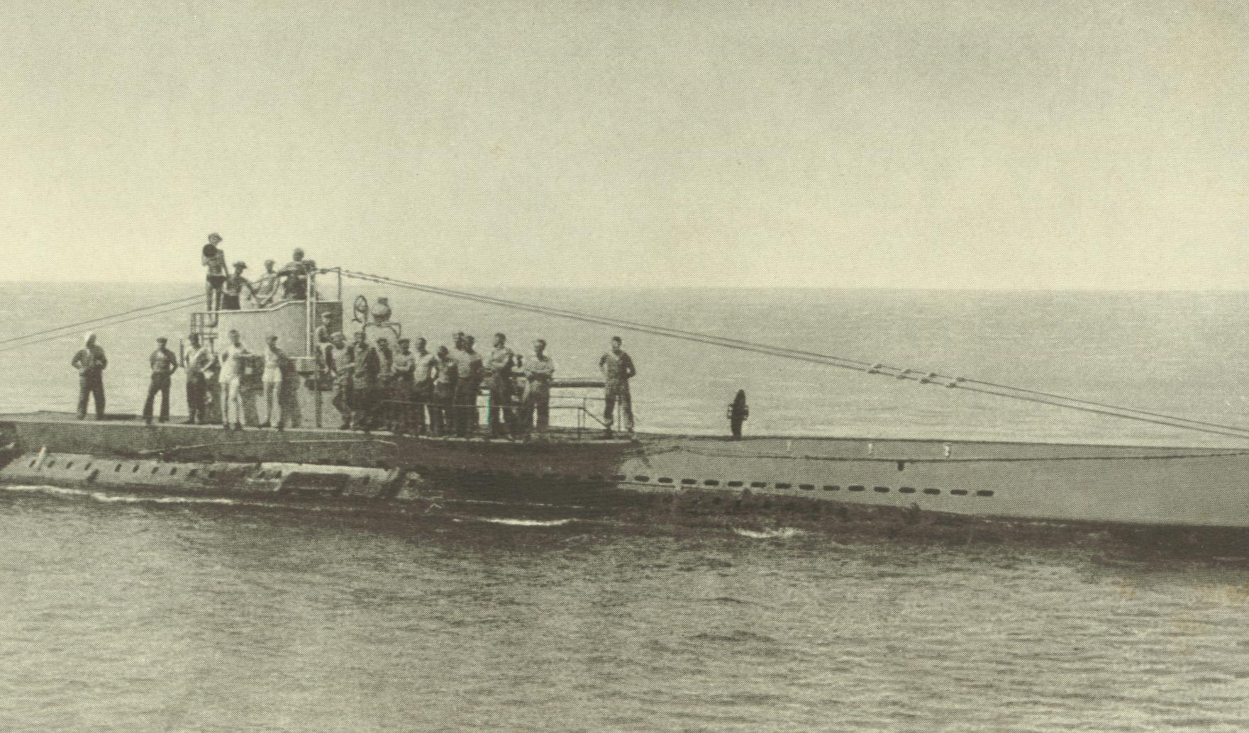 German_Submarine_U38