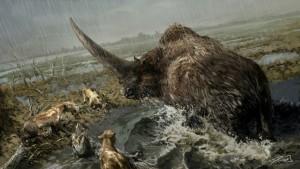 A régészek szerint léteztek az egyszarvúak, de szőrös fenevadak voltak!