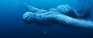 Óriási, ismeretlen víziszörnyet filmeztek az Antarktisz jege alatt