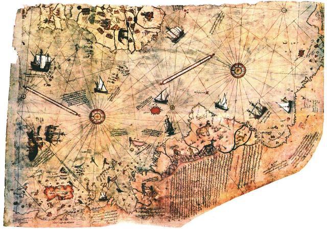 Piri Reis térképe 500 éve borzolja az idegeket...