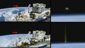 Rejtélyes energiasugárral lőttek a menekülő ufó után a Földről