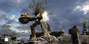 Hátborzongató ember-fa szörnyet fotóztak a Balkán-hegységben!