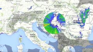 Rejtélyes időjárási anomáliákat vettek észre Közép-Európa felett