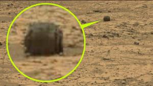 Különös roncsdarabra bukkantak a Marson!