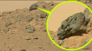 Ősi torzított koponyára bukkantak a Marson!