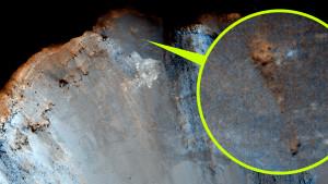 Bibliai óriás csontvázára bukkantak a Marson!