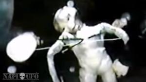 Rejtélyes videókazetta került elő egy 25 éve megfagyott földönkívüliről