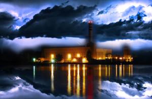 UFO jelent meg a lőrinci tó felett! – Még a hőerőműben is elment az áram!