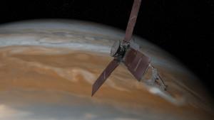 Kísérteties hangokat rögzített a Jupiternél járó űrszondánk