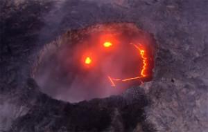 Különös dolgot fotóztak a hawaii-i vulkán kürtőjében