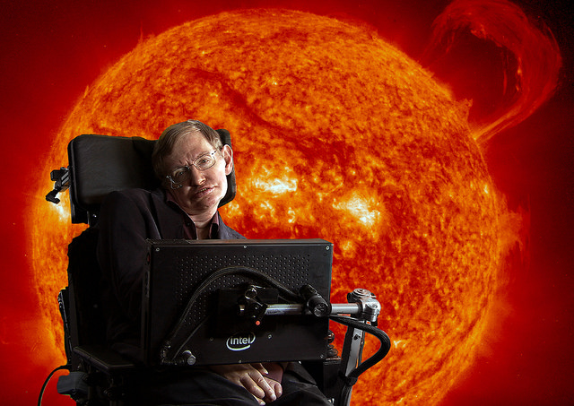 stephen hawking flicker