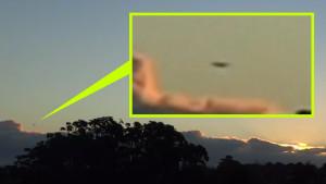 Azonosítatlan repülő tárgy kapcsolt fénysebességre Új-Zéland felett