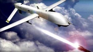Amerikai harci drónra támadt egy repülő csészealj