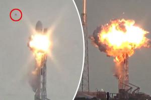 Ismeretlen repülő tárgy okozta a SpaceX rakéta felrobbanását