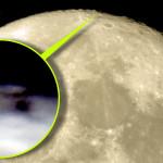 A Földről is látható egy különös építmény a Hold északi pólusán