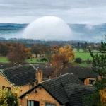 Hatalmas álcázott UFO landolt Észak-Walesben?