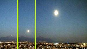 2400 km/órával száguldó fénygömböt rögzített egy mexikói webkamera