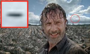 UFO repült át a The Walking Dead sorozat forgatásán