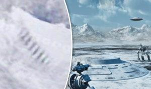 Itt a bizonyíték: Földönkívüliek vannak az Antarktiszon!