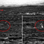 Rejtélyes fényvillanást fotóztak a Marson