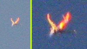Tüzes szárnyú, angyalszerű jelenség körözött Colorado felett