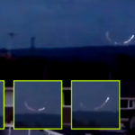 Lángoló UFO körözött egy angliai kisváros felett