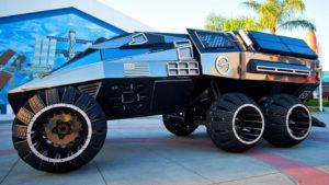 Filmes látványtervezők építették meg a legújabb marsjáró prototípusát