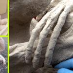 Szenzációs lelet: Mumifikálódott földönkívülit találtak egy perui barlangban!