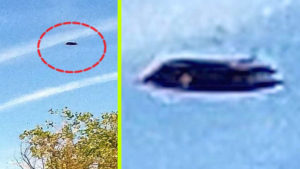 Vizelnie kellett a nyugdíjasnak, de végül UFO-fotózás lett belőle…