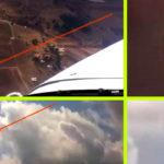 Ufók kerülgettek egy kisrepülőt leszállás közben – a pilóta felvette