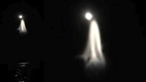Kísérteties anomália bukkant fel a Hold fényénél a Kaliforniai-öböl felett