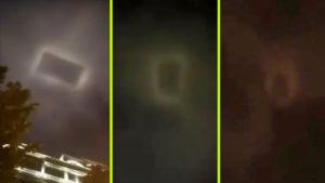 Új idegenek érkeztek: Téglalap alakú UFO bukkant fel Kínában