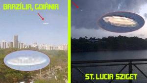Ketten is lefotózták ugyanazt az UFO-t, több ezer km-re egymástól