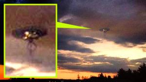 Most érkezett: Medúza alakú UFO-t fotóztak Kanadában…