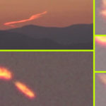Videóra vették, amint felrobban egy UFO Santiago de Chile felett
