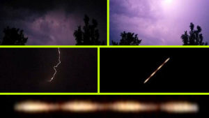 A vihar alatt, titokban hagyta el a Földet egy UFO – A kamera mindent vett…