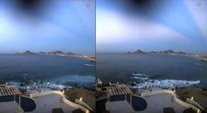 Gyanús felvétel: Holografikus lézertechnikával vetítik fölénk az égboltot