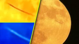 Kígyószerű entitás repült át a Holdról készült videón