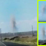 Épp egy autós előtt szállt fel az álcázott UFO Új-Mexikóban