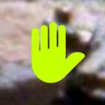 Az év képe a NASA-tól: Szaró marslakót fotóztak!