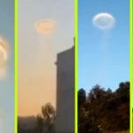 Titokzatos, narancssárga UFO-gyűrűt észleltek Kínában