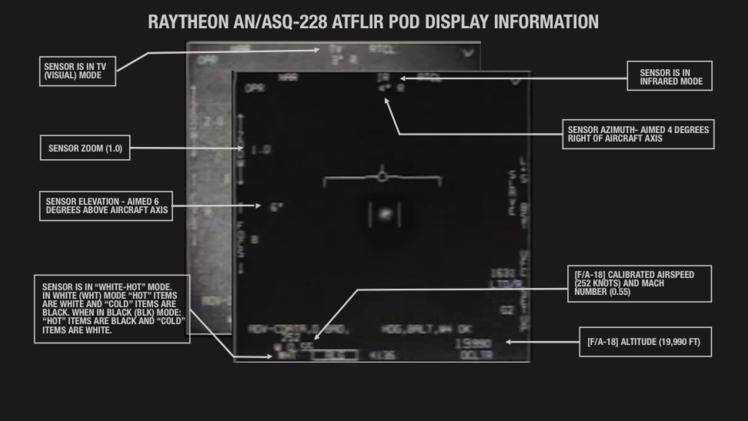 Ezt az UFO-videót a Pentagon is valódinak ismerte el!