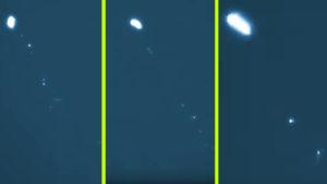 Hőkamerával vették fel a kaliforniai UFO-inváziót
