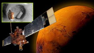 Leleplezés: Ősi romokat fedeztek fel a Mars egyik kráterében