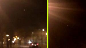 Végre egy kőkemény magyar UFO-videó: repülő csészealj Ózd felett!