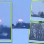 Száguldó autóból, vörös fényű UFO-t videóztak Belorusziában