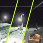 Ledöbbentek az alaszkai időjósok: Bizarr fénygömböt fogott a webkamerájuk