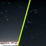 Élőben közvetítették a tévében a Milwaukee felett repkedő UFO-flottát
