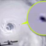 Különös tárgyat filmezett az ISS űrállomás egy hurrikánfelhő felett